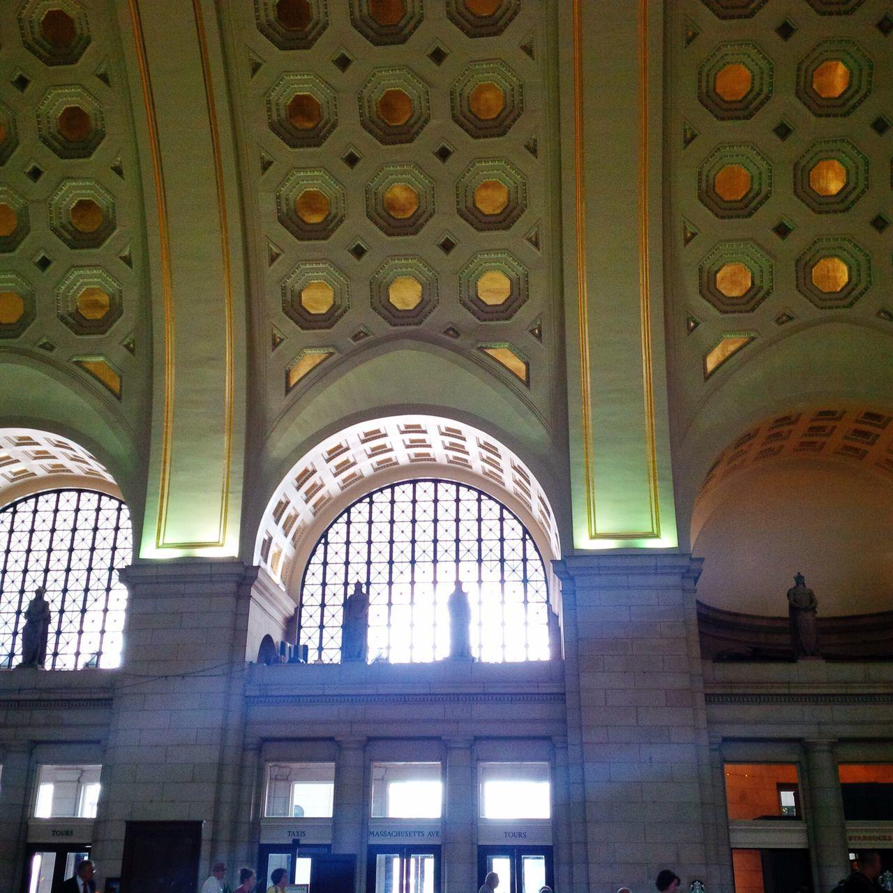 Union Station Ceiling Washington, D. C. Gold Blackberry10