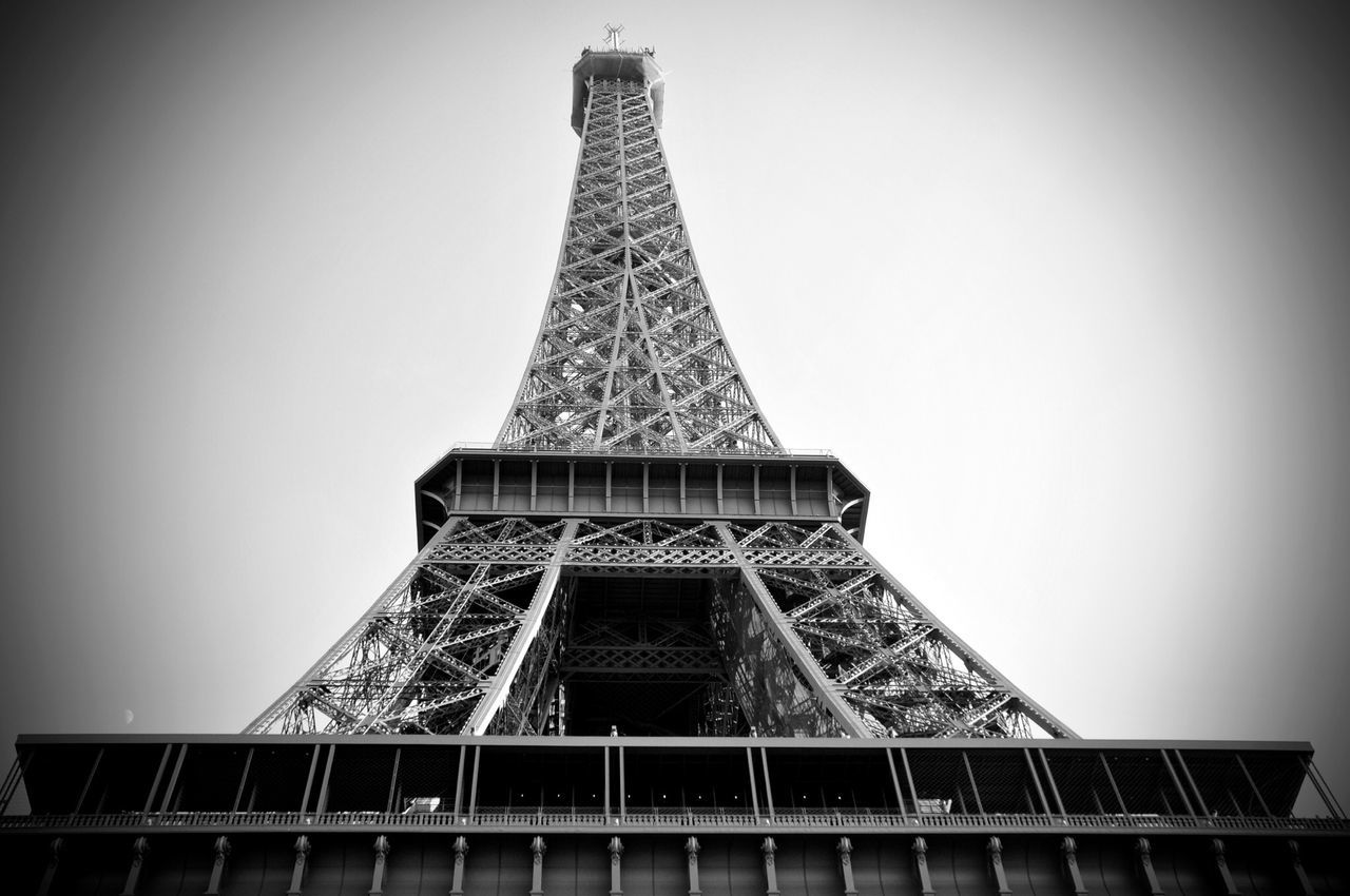 Tour Eiffel Eiffel Tower Black And White Paris