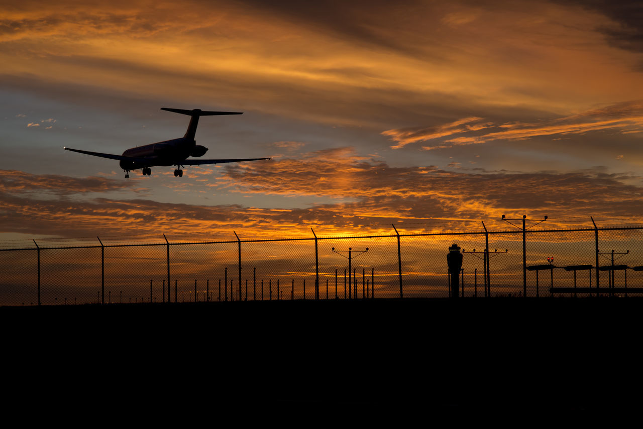 Beautiful stock photos of sonnenaufgang, Air Vehicle, Airplane, Airport Runway, Cloud - Sky