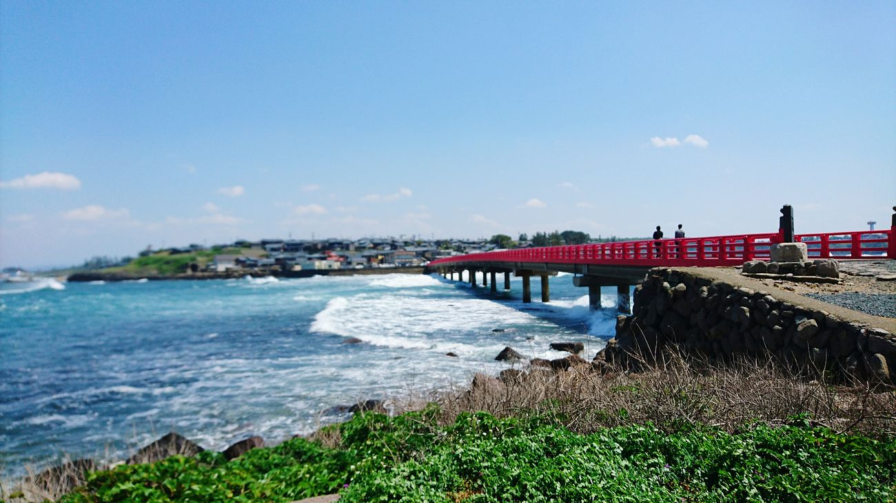 Red Bridge and Sea from 雄島