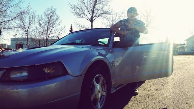 My bros new whip Taking Photos New Whip Cheese! Relaxing Hi! Enjoying Life Badass Check This Out Somewhere In Canada Street Cars Fully Loaded Cars Car Lovers All Original Tunning Car