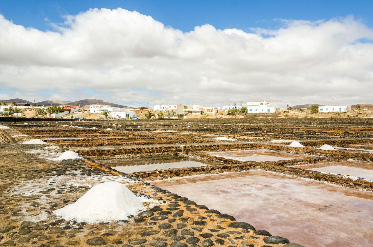 Building Exterior Cloud - Sky Fuerteventura Las Salinas Museo De La Sal Puerto Del Carmen Sky