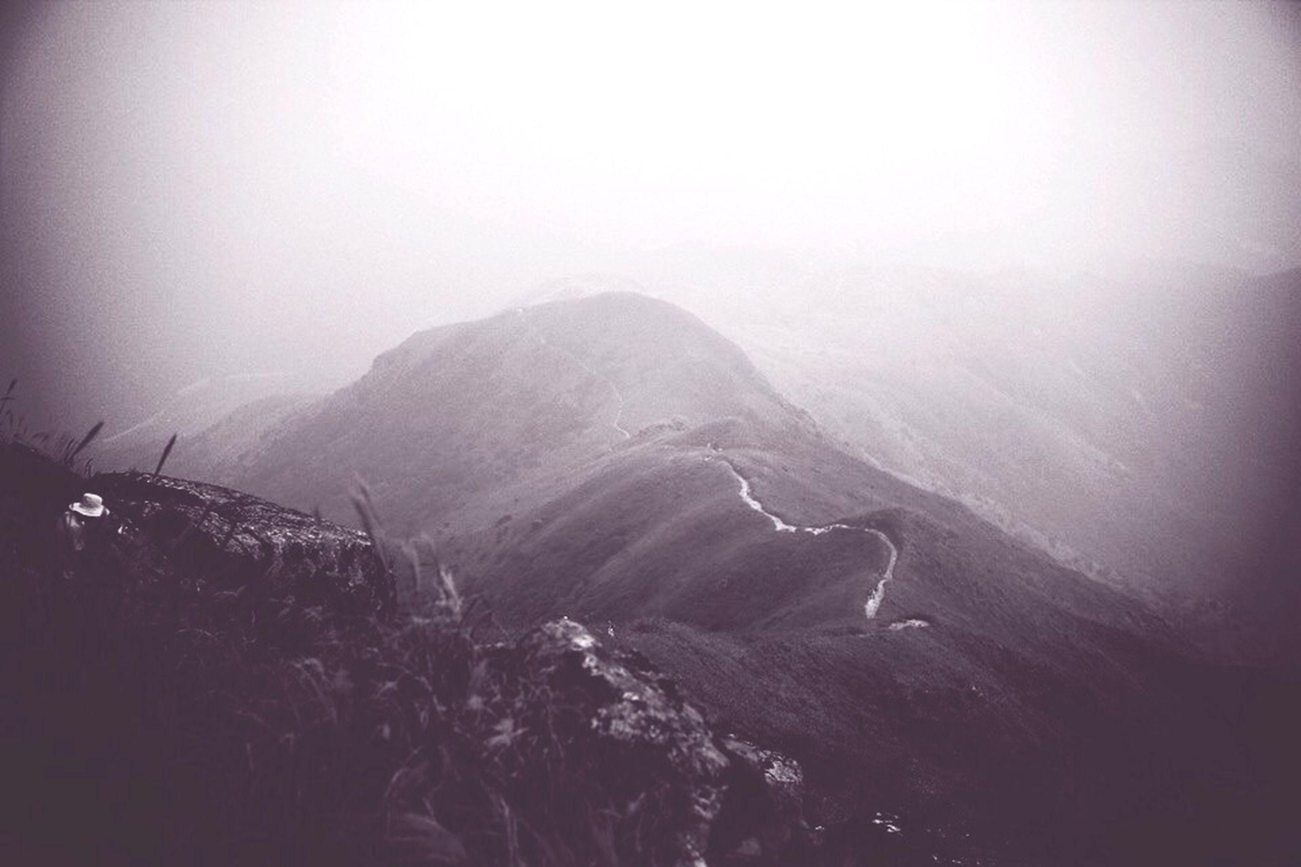 mountain, winter, snow, cold temperature, tranquil scene, scenics, tranquility, beauty in nature, weather, nature, copy space, clear sky, mountain range, season, non-urban scene, idyllic, sky, landscape, remote