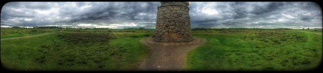 Culloden Battlefield Culloden Scotland Panorama
