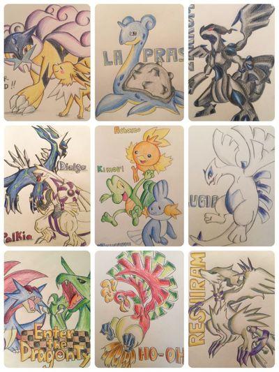ポケモン Pokémon MyDrawing Illustration Drawing Hanging Out Check This Out Taking Photos Pokedraw