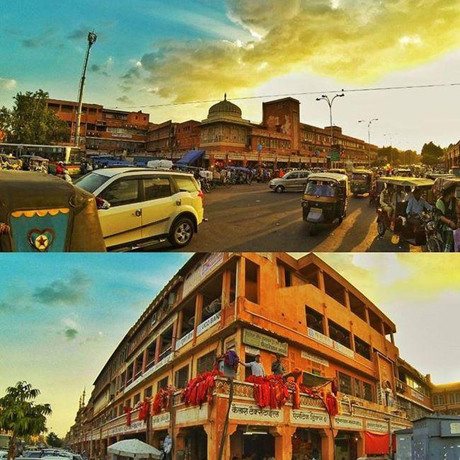 Jbclickz Jaipurcity Jaipurdiaries Sunset Goldensky