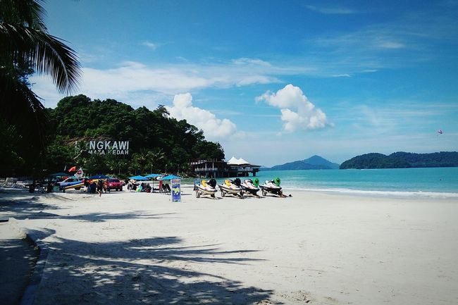 Relaxing Holiday View Nice Atmosphere Resting Glitch Holiday Langkawi Sky Enjoying The Sun Sky beach