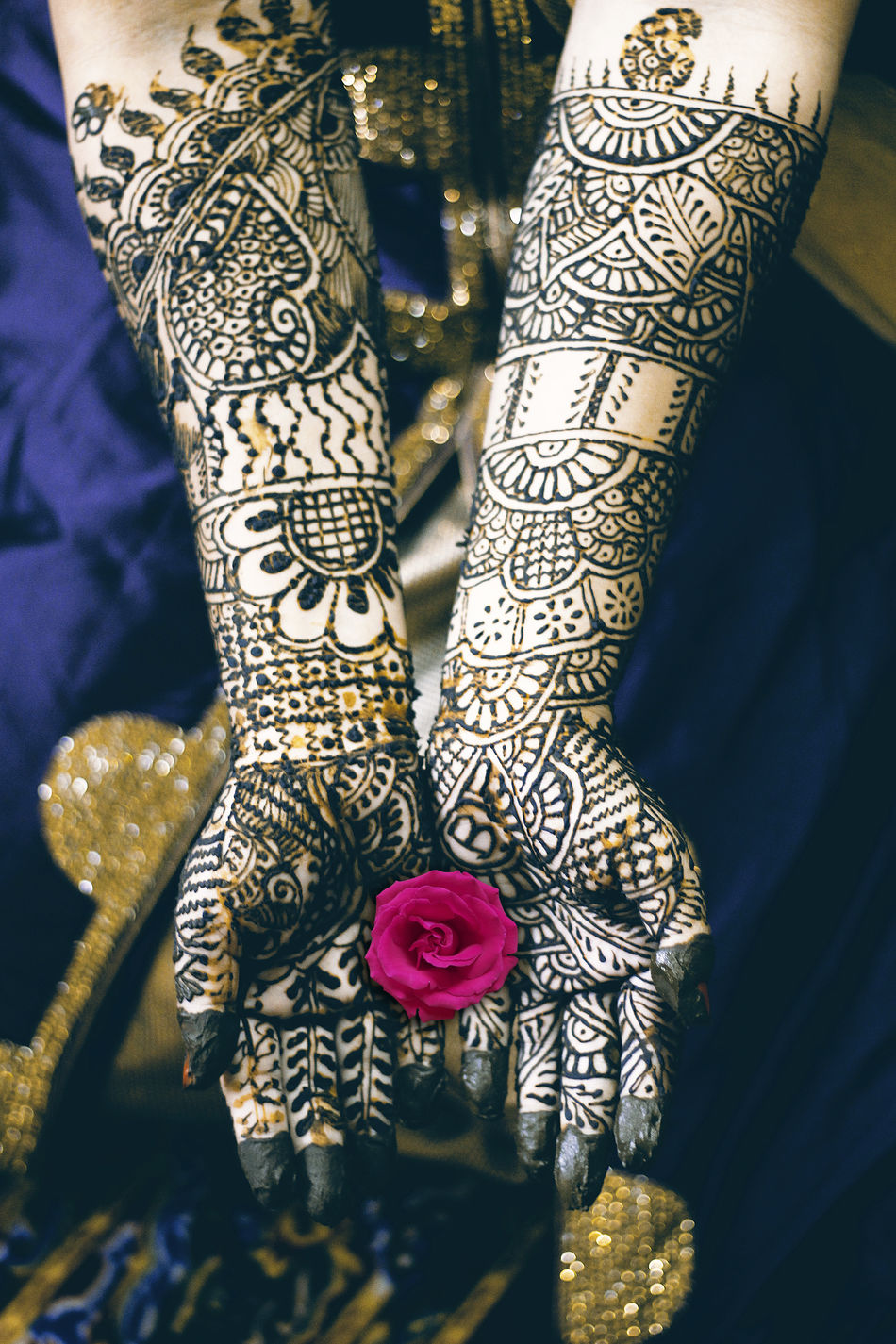 Indian culture Mehendi High Angle View Pattern Indoors  Close-up Celebration One Person Low Section One Woman Only People Day Hand Mehendi Mehendi Art Wedding Bride ArtWork Tatoo Lifestyles Luxury Design Human Hand Human Body Part Assam, India Traditional Culture Culture