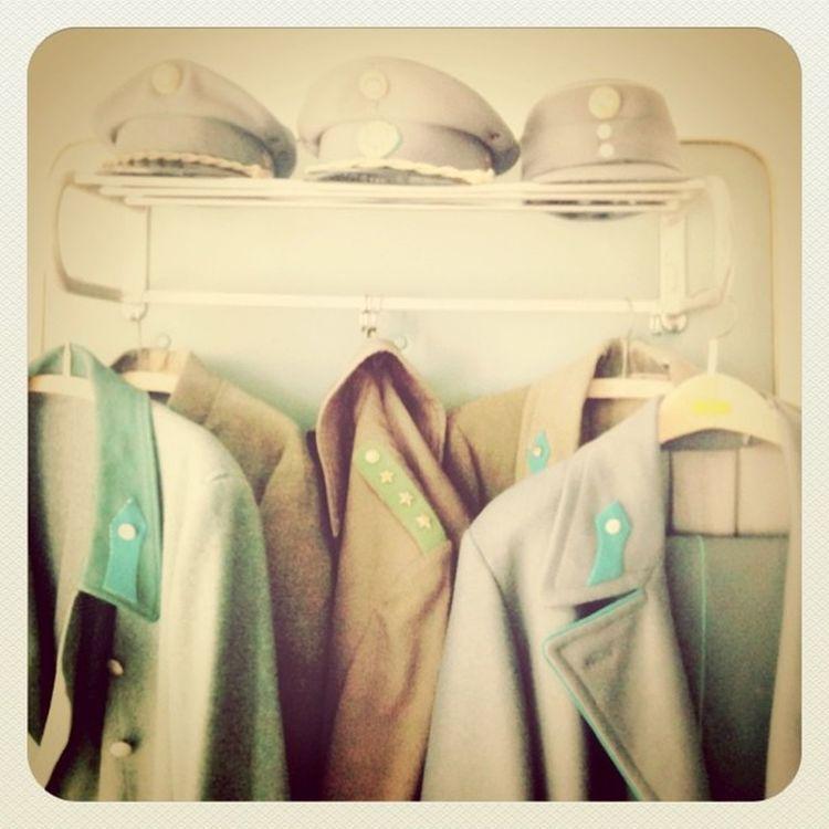 some uniforms from the worldwars #dorfmuseum Dorfmuseum