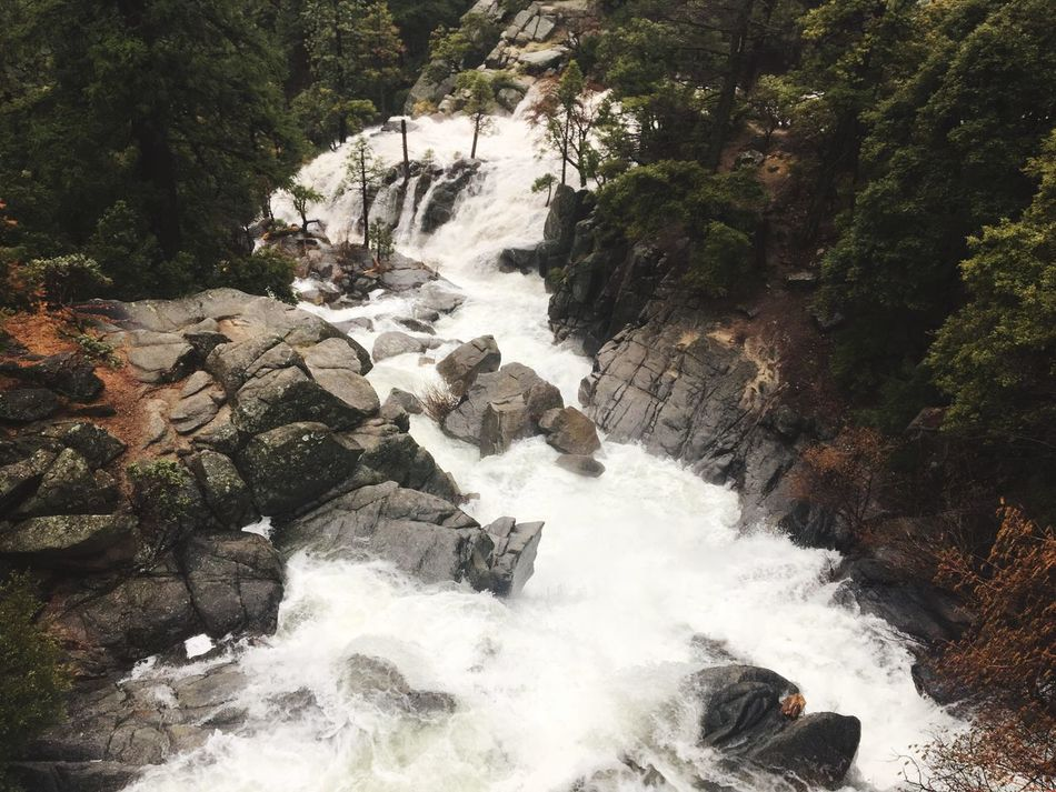 IPhone Photography Iphonephotography IPhoneography Yosemite National Park Waterfall Rock Nature Motion Water River Rock - Object Beauty In Nature Environment Long Exposure No People Adventure Rapid Forest Scenics Outdoors Day