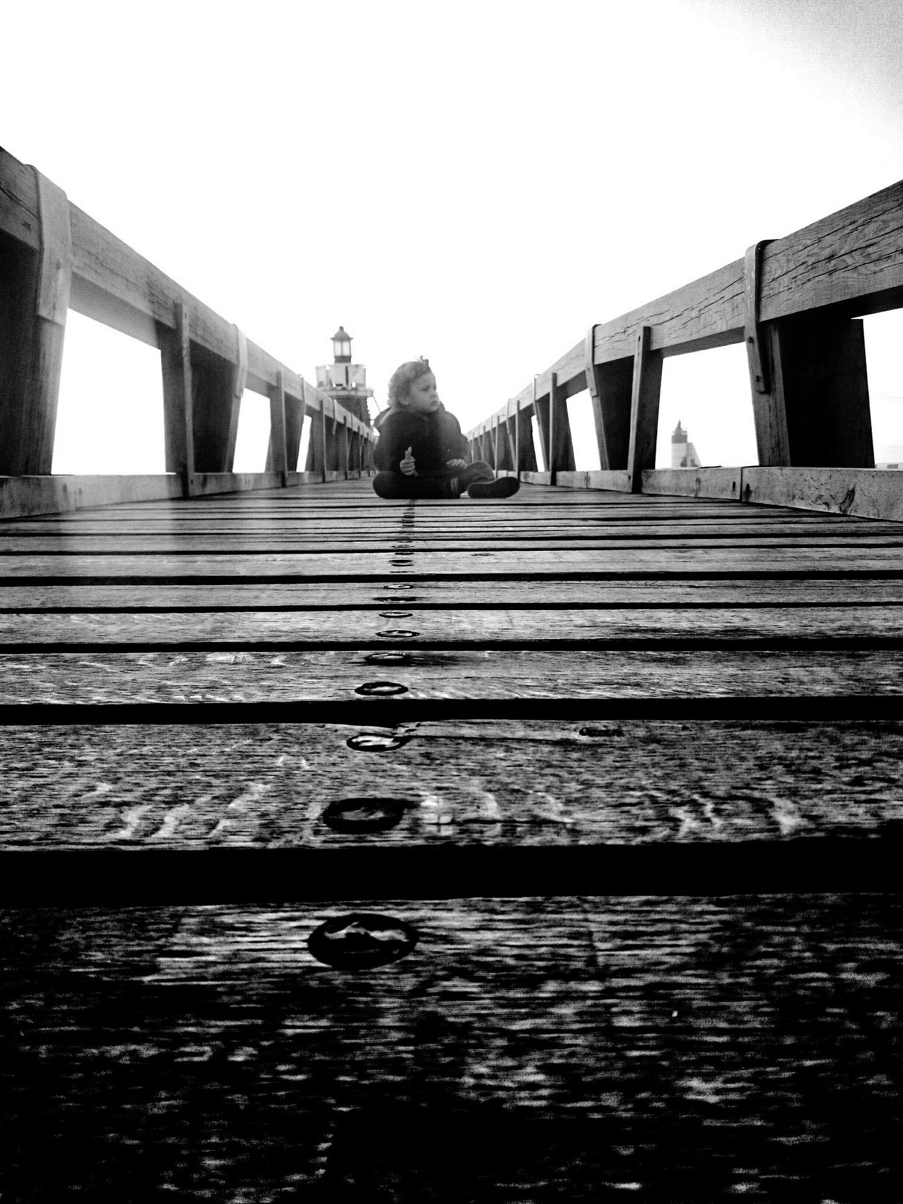 Beach Capbreton Capbreton Children Bridge Phare Pharaoh Black And White Photography Blackandwhite Photography Black & White Blackandwhite