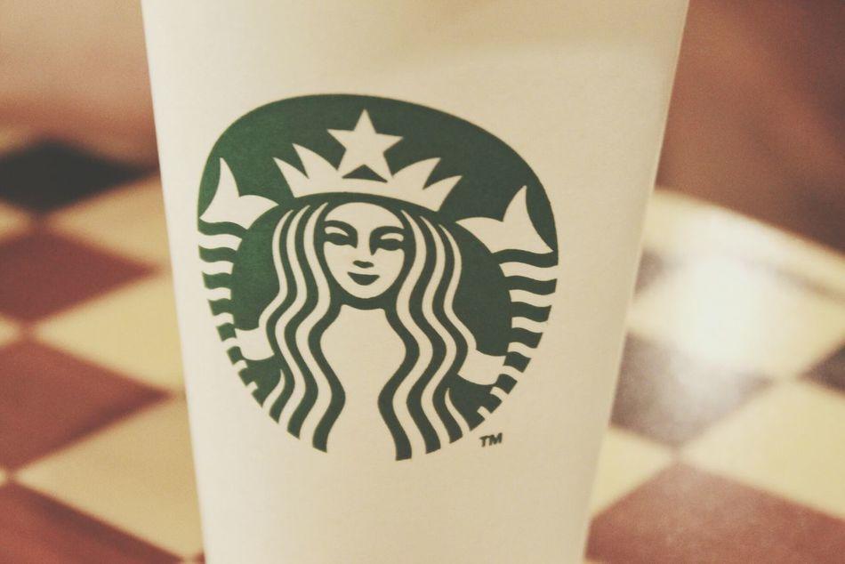 Starbucks Coffee Drinking Starbucks Coffee
