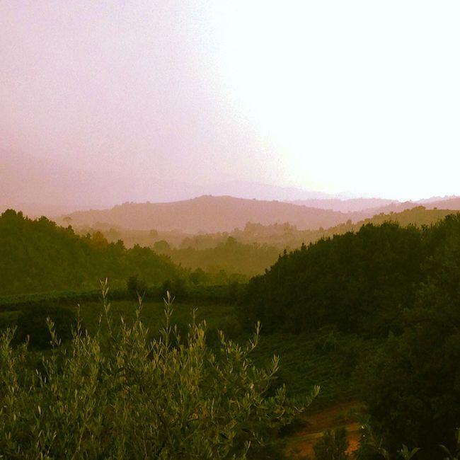 Olevano Romano Skyline