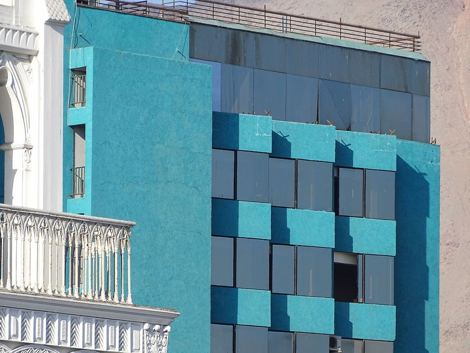 Architecture Building Exterior City Day Iquique Chile  Low Angle View No People Outdoors