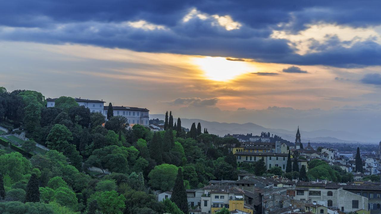 sunset Florence
