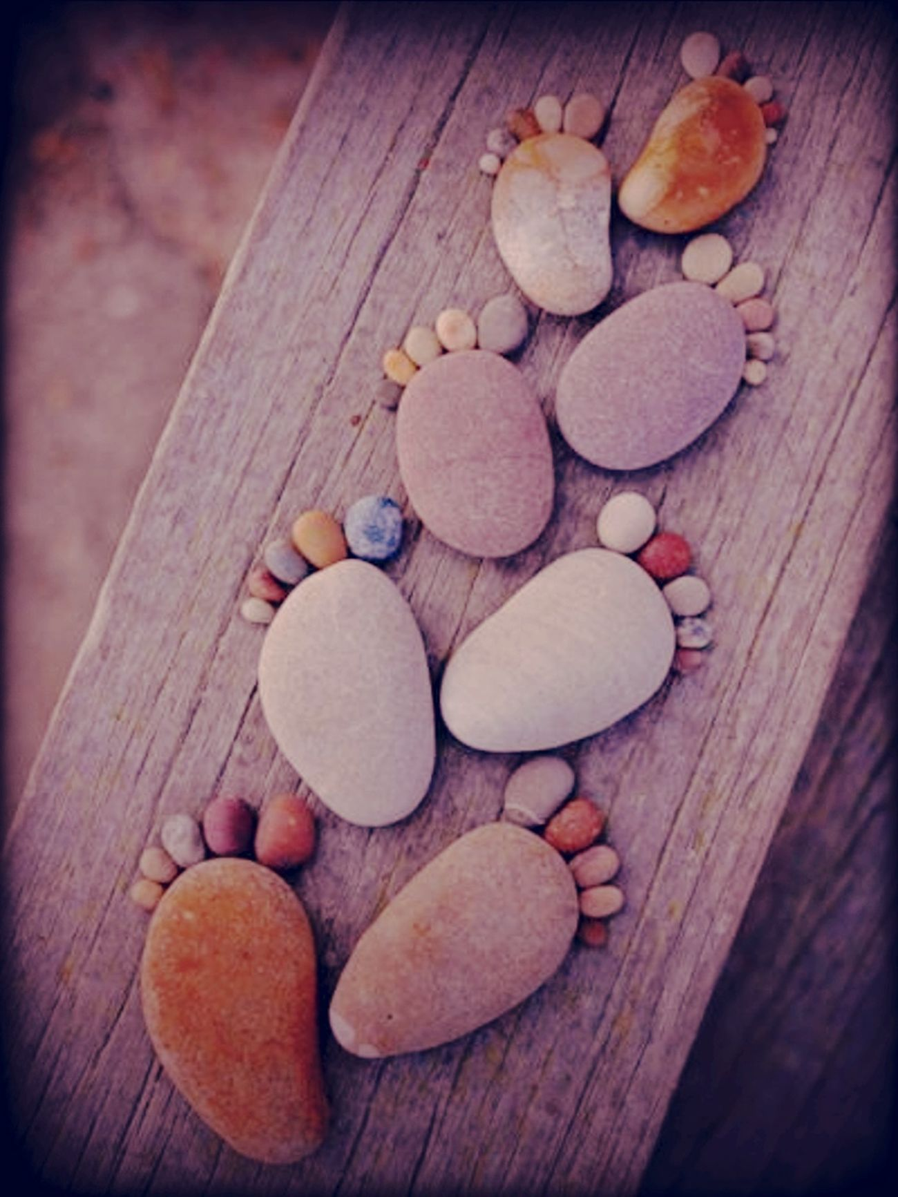 Cute  Stones  Pebbles  Feet  Family