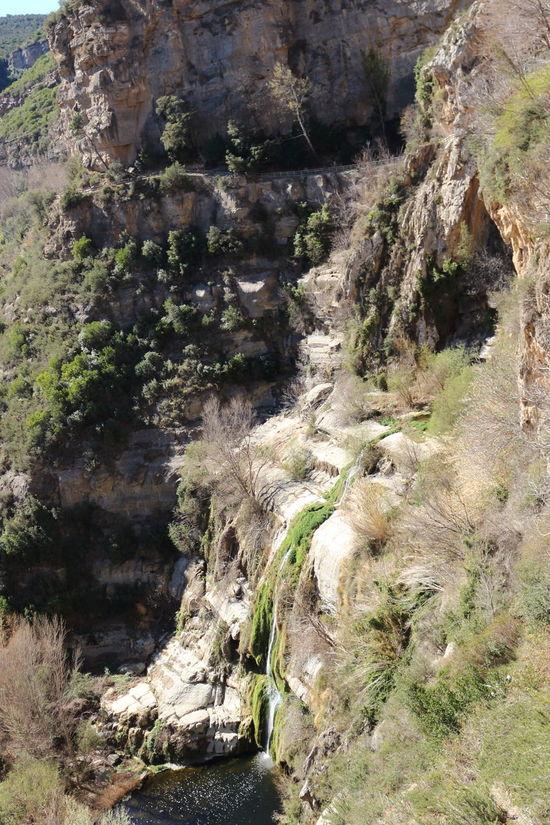 Sant Miquel del frai Autumn Cascada Cuevas Mountain Nature Rock Sant Miquel Del Frai Scenics Tranquil Scene Tranquility