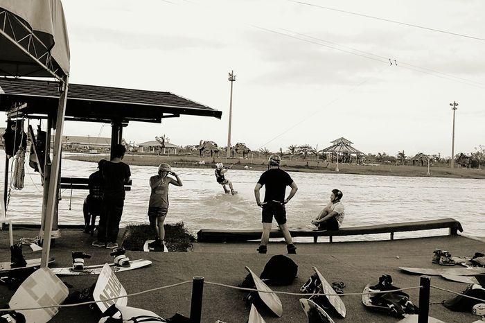 Water Sport Wakeboarding Strength Power Balance Outdoors EyeEmNewHere