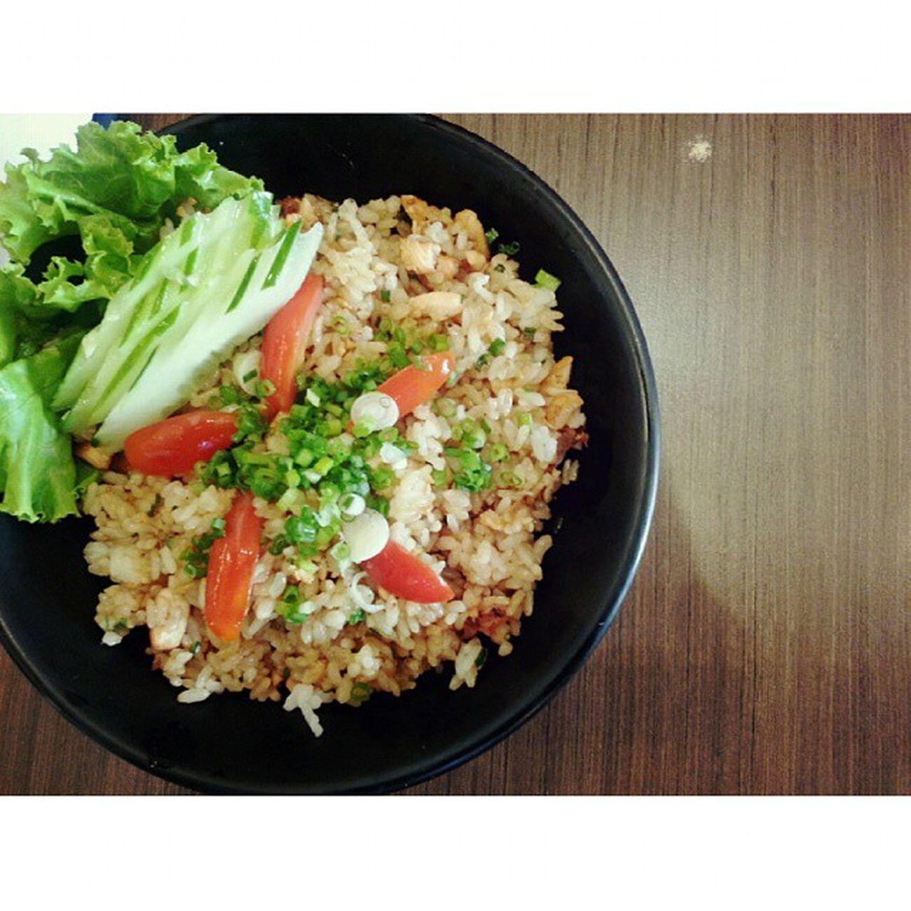 Fried Salmon Rice Sushioo Mercuryville Chitlom Japanesefood