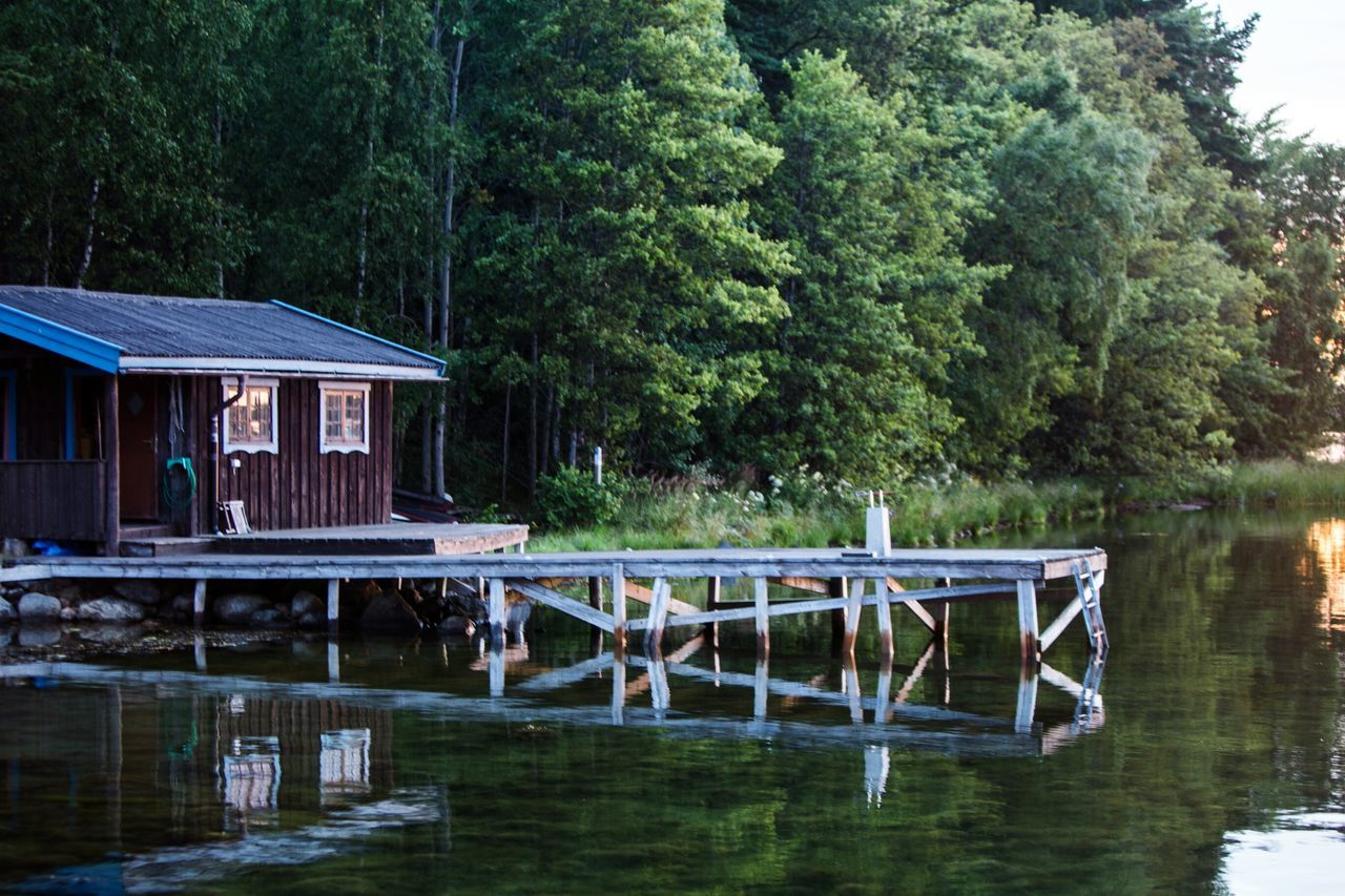 No People Beauty In Nature Tree Forest Cabin Woods Remote Water Nature Amazing View Nature Photography Amazing Nature_collection Outdoors Senic Senic View