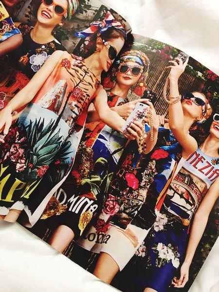 Magazine Fashion Beautiful Pretty Girl Girls Fotoshooting Likeforlike Like4like Grazia