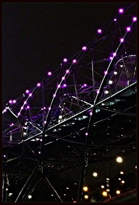 Awesome architecture at The Helix (Double Helix Bridge) by Angie