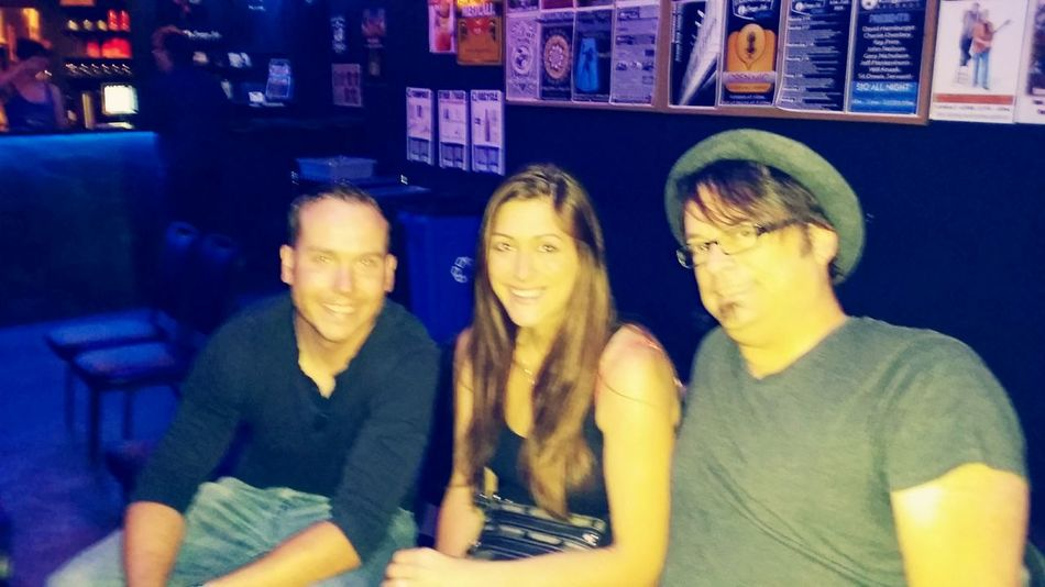 My daughter, her husband and me during SXSW 2015