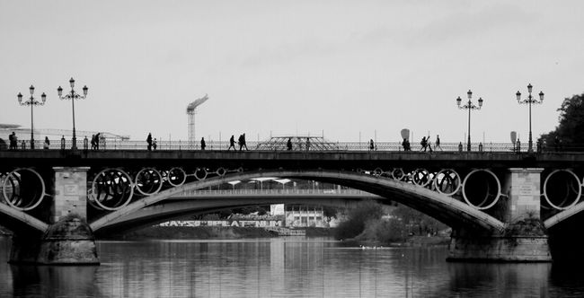 Noir Bridge Monochrome Streetphoto_bw Bws_worldwide Italianbrother Bwstyles_gf Bws_artist_eu