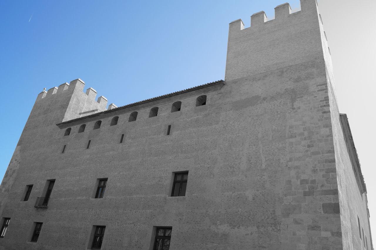 Alaquas B&w Blue Castell Castell D'Alaquàs Castillo Castillo De Alaquàs Castle Colour Filters Comunidad Valenciana Comunitat Valenciana Espana-Spain España🇪🇸