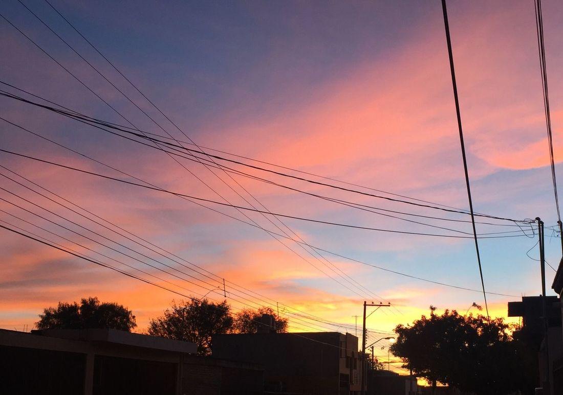Atardecer Sunset Aguascalientes Aguascaliente's Sunset Mexico