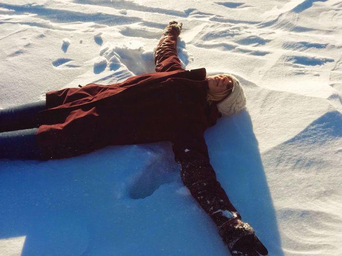 Sunshine & Snow, Ottawa 2015 Snow Sunlight Smiling Girl Canada One Person Outdoors Exploring Travel Destinations Ottawa Full Length Shadow Portrait Snowing Winter EyeEm Best Shots EyeEm Gallery EyeEm Selects EyeEm Masterclass Eyemphotography