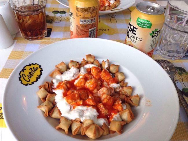 What's For Dinner? Casitas Feraye  Seviyorumnapiim Turkishfood çıtır This Is Turkey Hello World Mantı