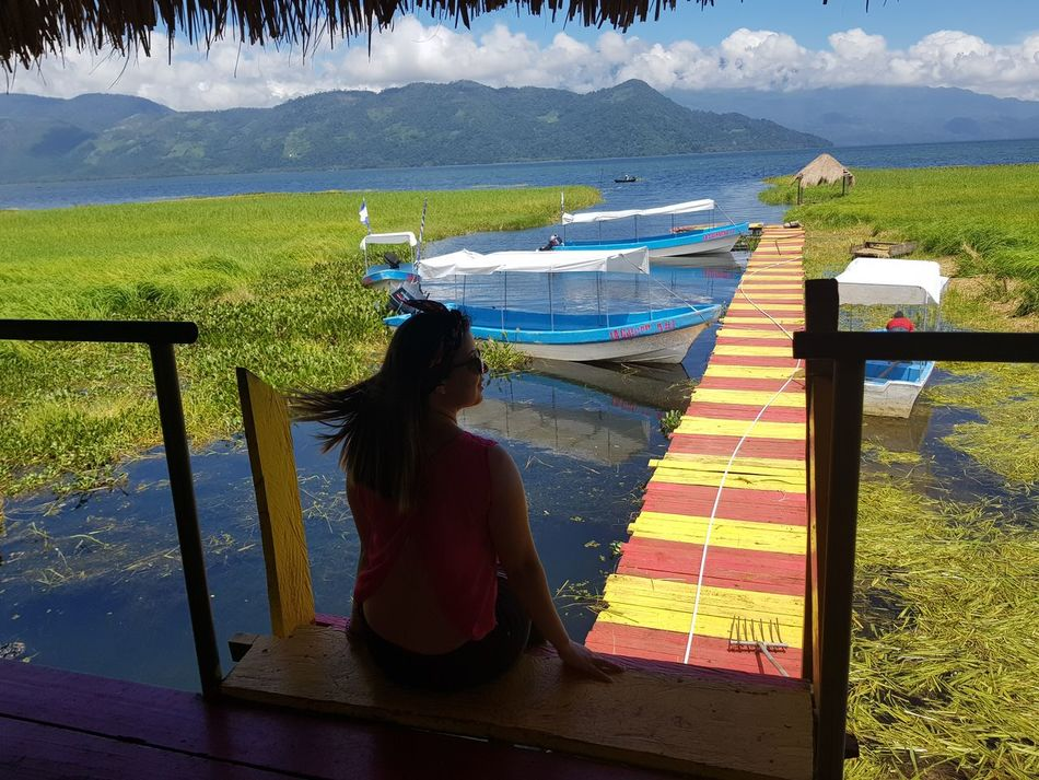 Lago de yojoa corazon de Honduras Only Women One Person Water One Woman Only Adults Only Adult Women People Full Length Day Sea Outdoors Real People Nature Sky One Young Woman Only First Eyeem Photo