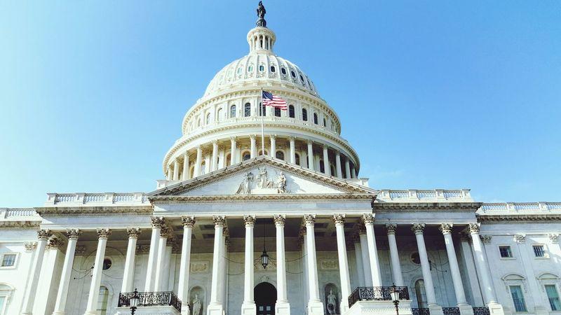 Government Politics And Government Sky US Capitol Building Washington, D. C.