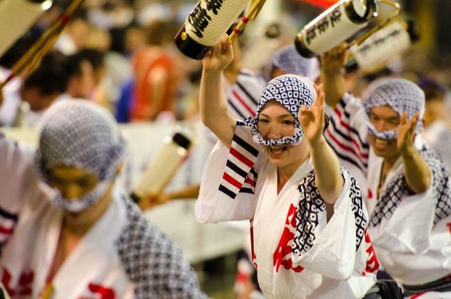 阿波踊り Awadance Summer Carnival 夏 Japan Japanese Culture Nikon