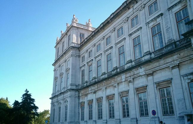 Portugal Lisboa Ajuda Palácio Da Ajuda Lisbon Momument Momumento
