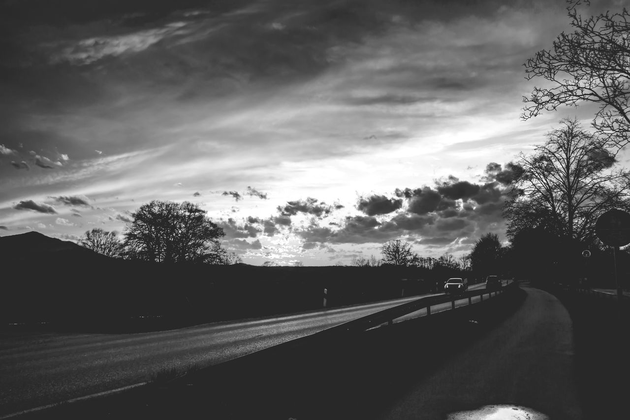Landscapes With WhiteWall Bnw_collection BnW Sunset