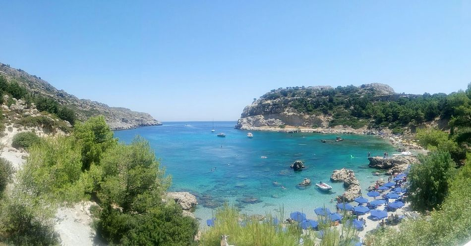 Taking Photos Check This Out Enjoying Life Sea Rhodes Summer Greece Sun Αιγαιο Greek Islands Hi! Check This Out Nature Antony Quinn Bay