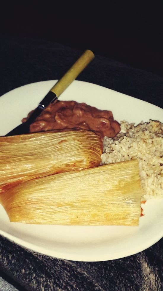 What's For Dinner? Tamales Rice Beans Life Of A Mexican