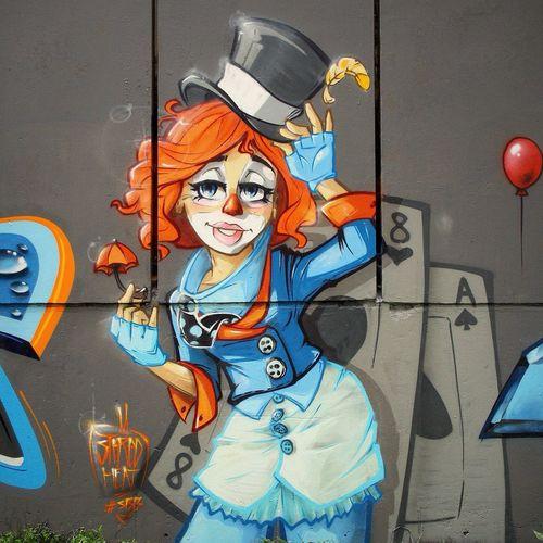 Stereoheat Super Bad Boys Graffiti Street Art