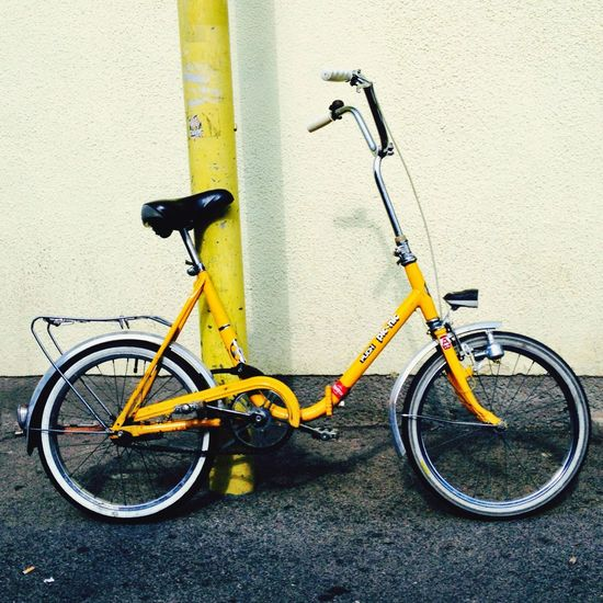 Yellow Bike. Bike Bicycle Yellow Puch Urban Urban Colors
