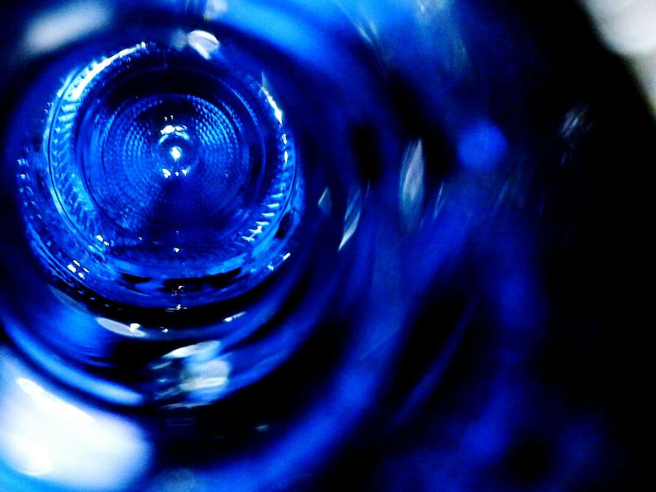 Deep Blue Loop Drop Water Close-up No People Concentric Nature Splashing Droplet Day