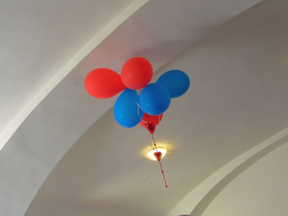 red and blue baloons No People Close-up Balloon Red Still Life Photography StillLifePhotography Blue Balloons Red Baloons