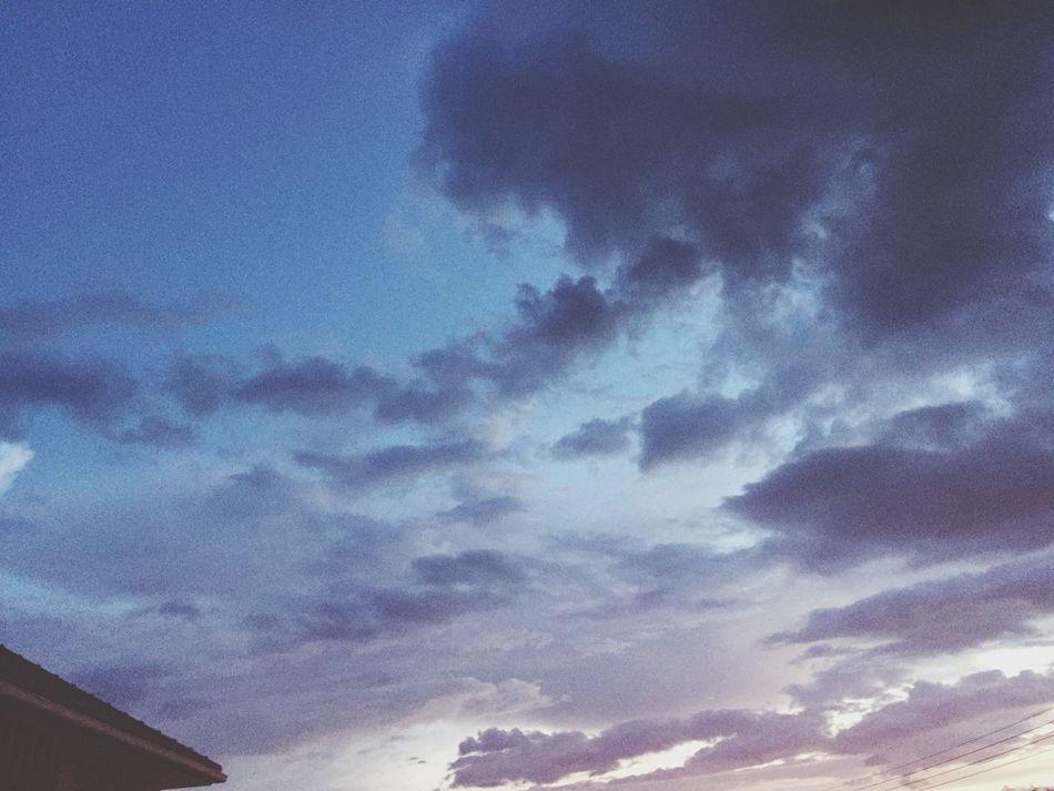 Evening Sky Lamphun Thailand