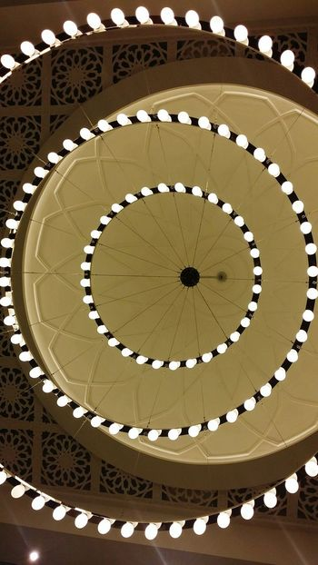 Background Lookingup Architecture Pattern Lights Light And Shadow Circular Mosque Dome Circular Light Showcase: February Nice Taken By Me Photography Architectural Detail Architectureporn Architecturelovers