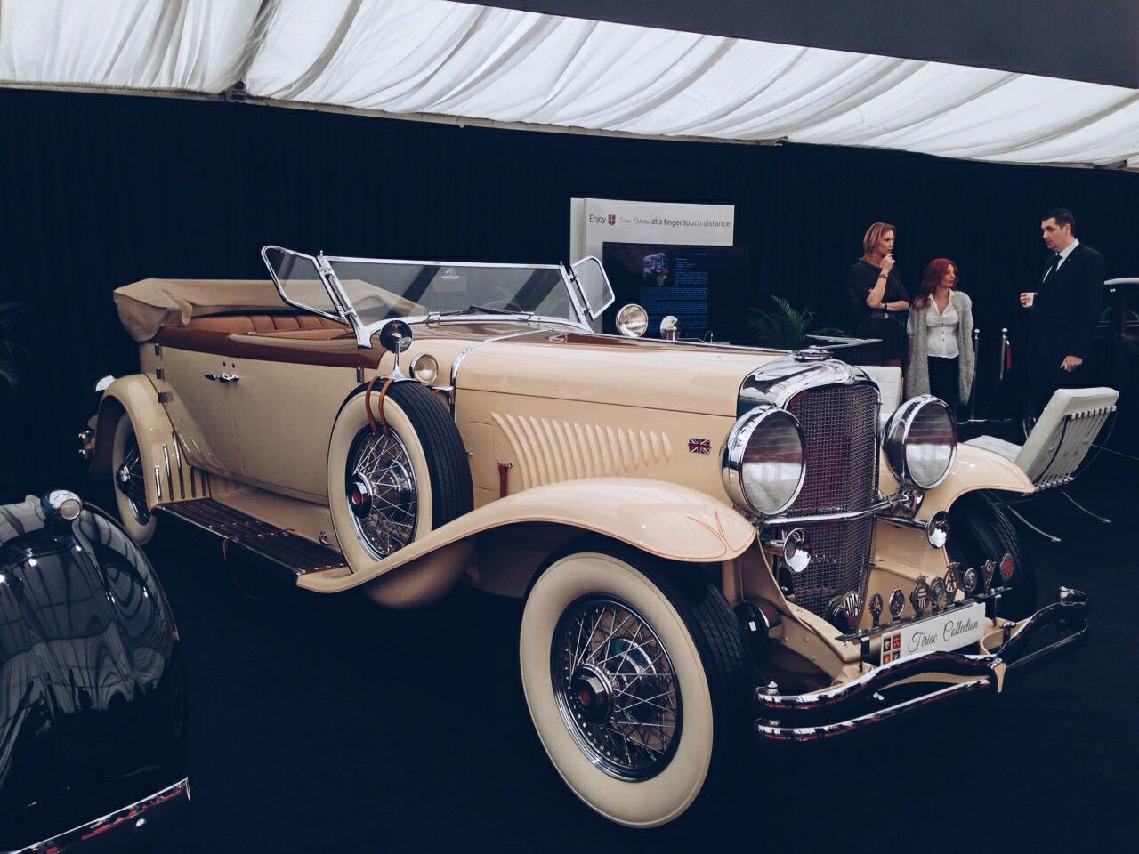 A Vintage Car from the Tiriac Collection😍❤ Vintage Cars Cars CarShow Carexpo Exposition Vscocam VSCO
