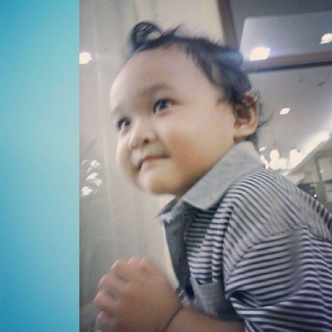 Baby boy version ko. ❤?? Ihhh. Ang cute ng baby yael ni ninang. Heartheart ❤ BabyYael BabyKulot Bibbo