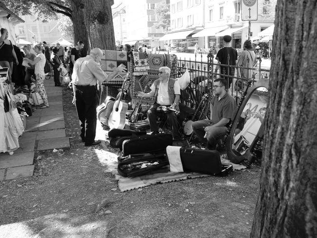 Street City City Life Street Life Streetphoto_bw Street Photography Streetphotography Monochrome Blackandwhite Black And White Black & White EyeEm Best Shots - Black + White From My Point Of View Flea Markets Fleamarket Flohmarkt EyeEmSwiss Zürich