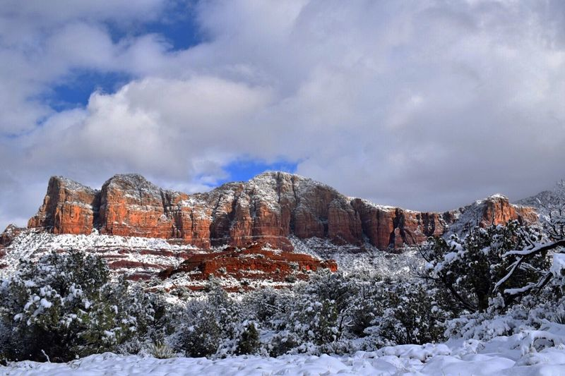 Sedona Winter Beauty In Nature