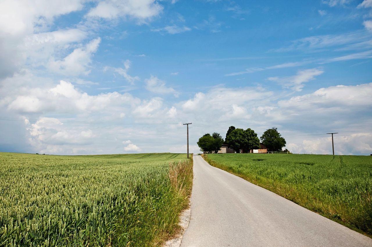 Field EyeEm Best Shots Open Edit Travel Germany Vanishing Point